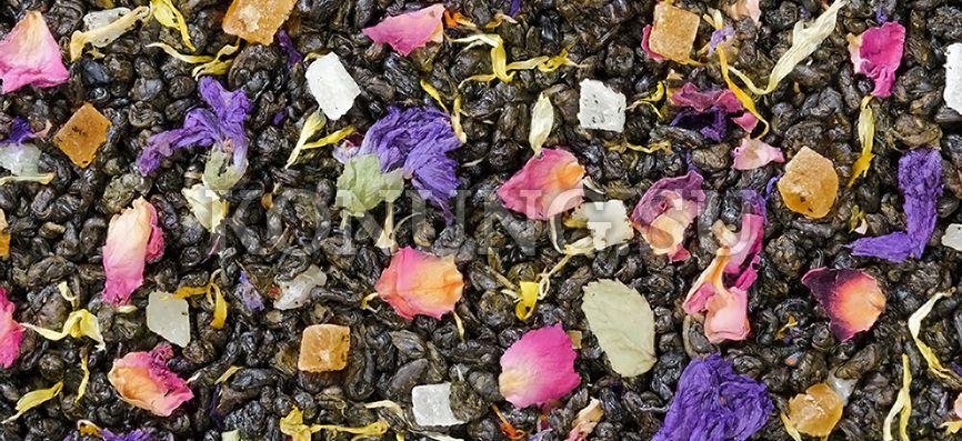 Ароматизированный чай Зеленый Утро Клеопатры